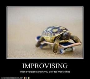 IMPROVISING