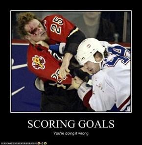 SCORING GOALS
