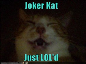 Joker Kat  Just LOL'd