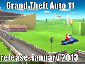 Grand Theft Auto 11  release: january 2013