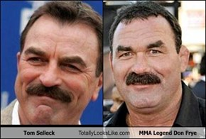 Tom Selleck Totally Looks Like MMA Legend Don Frye