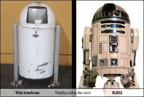 This trashcan Totally Looks Like R2D2