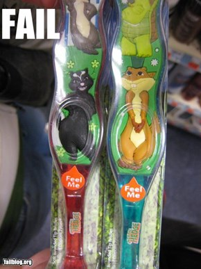 Children's Toothbrush Fail