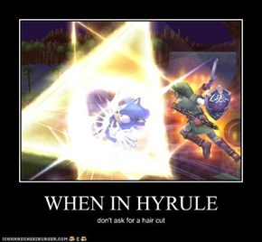 WHEN IN HYRULE