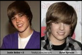 Justin Beiber <3 Totally Looks Like Dylan Sprouse