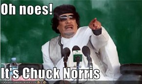 Oh noes!  It's Chuck Norris