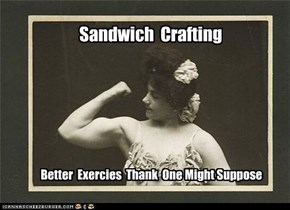 Sandwich-making