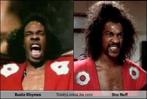 Busta Rhymes Totally Looks Like Sho Nuff