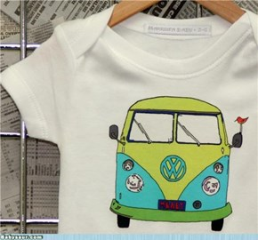VW Love Child Onesie