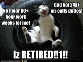 Iz retired!