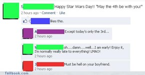 May the 3rd be with you...?