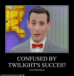 CONFUSED BY TWILIGHT'S SUCCES?