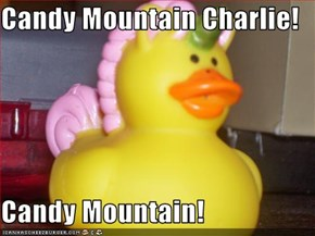 Candy Mountain Charlie!  Candy Mountain!