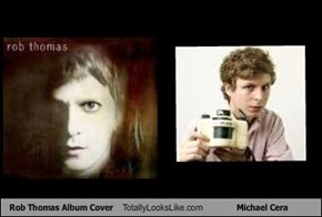 Rob Thomas Album Cover Totally Looks Like Michael Cera