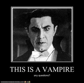 THIS IS A VAMPIRE