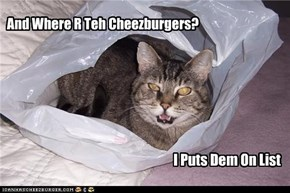 And Where R Teh Cheezburgers?