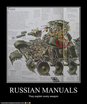 RUSSIAN MANUALS