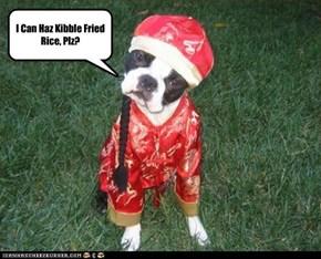 I Can Haz Kibble Fried Rice, Plz?