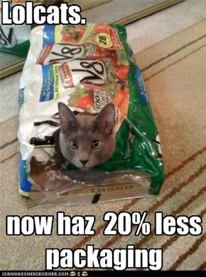 20% less!