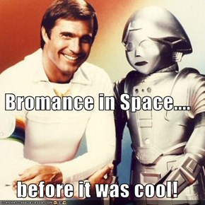 Bromance in Space.... before it was cool!