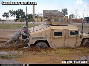 So much money spent in a war