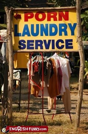 "Add new meaning to word ""dirty laundry"""