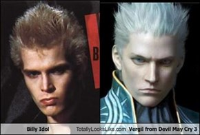 Billy Idol Totally Looks Like Vergil from Devil May Cry 3