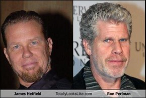 James Hetfield Totally Looks Like Ron Perlman