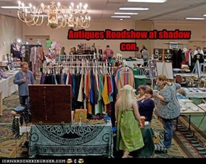 Antiques Roadshow at shadow con.