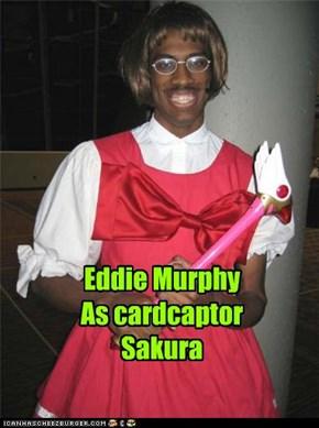 Eddie Murphy As cardcaptor Sakura