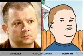 Jim Norton Totally Looks Like Bobby Hill
