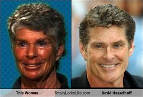 This Woman Totally Looks Like David Hasselhoff