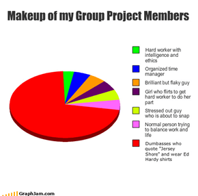 Makeup of my Group Project Members