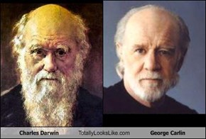 Charles Darwin Totally Looks Like George Carlin