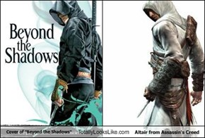 "Cover of ""Beyond the Shadows"" Totally Looks Like Altair from Assassin's Creed"