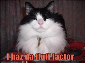 I haz da fluff factor