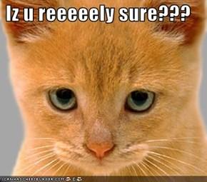 Iz u reeeeely sure???