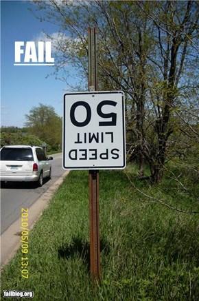Sign Fail
