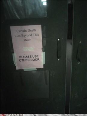 Whats Behind Door #2?
