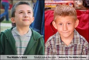 The Middle's Brick Totally Looks Like Malcom In The Middle's Dewey