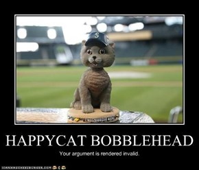 HAPPYCAT BOBBLEHEAD