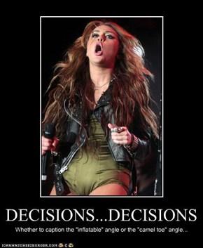 DECISIONS...DECISIONS