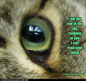 I am the eye in the sky Looking at you I can read your mind