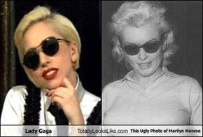 Lady Gaga Totally Looks Like This Ugly Photo of Marilyn Monroe