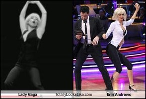 Lady Gaga Totally Looks Like Erin Andrews