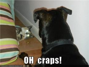 OH  craps!