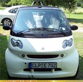 Happy Car Is Happy that it's smart