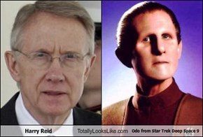 Harry Reid Totally Looks Like Odo from Star Trek Deep Space 9