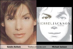 Sandra Bullock Totally Looks Like Michael Jackson