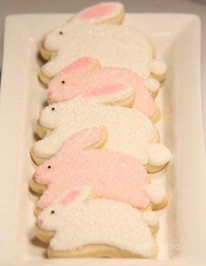 Fluffy Bunny Cookies